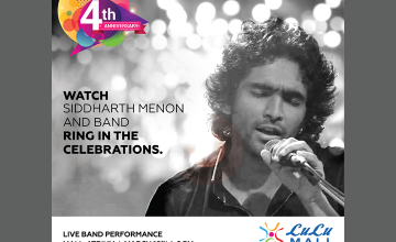 Live Band Performance by Siddharth Menon