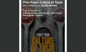 First Food: Culture of Taste - Book Release
