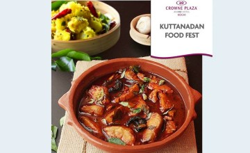 Kuttanadan Food Festival  By Crowne Plaza