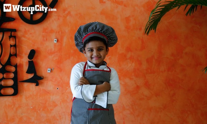 Meet Kicha, a six year old from Kochi,  who is cooking up a storm on the internet
