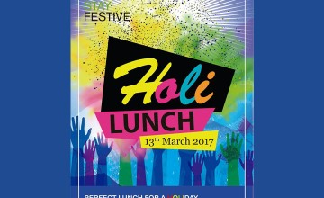 Holi Lunch by Holiday Inn