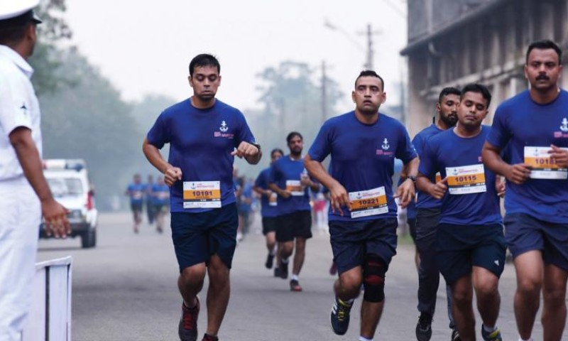 Kochi Navy Marathon- A great successful event