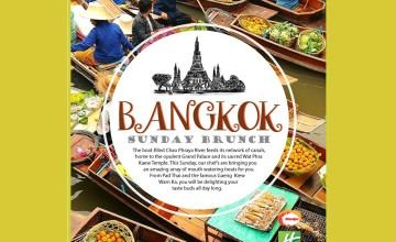 Bangkok - Sunday Brunch