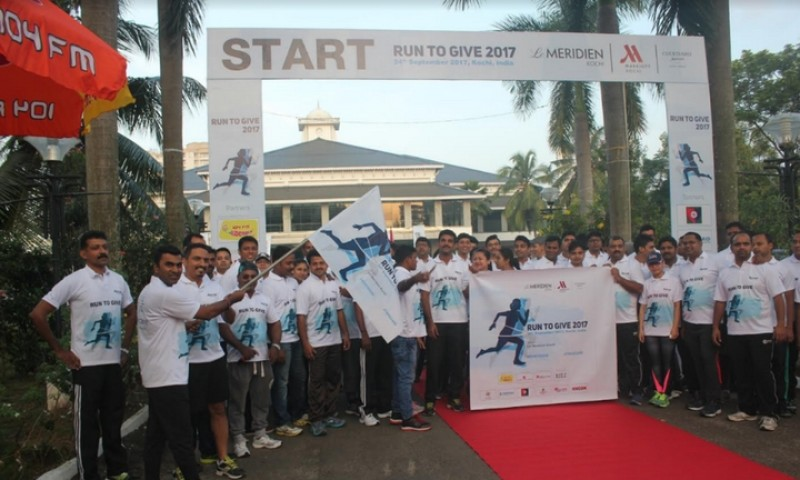 MARRIOTT CLUSTER HOTELS KOCHI ORGANISED RUN TO GIVE 2017