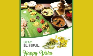Vishu Sadhya Offers by Holiday Inn