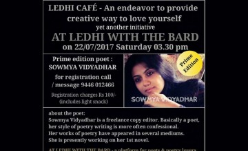 At Ledhi With the Bard - A Platform for Poets and Poetry Lovers