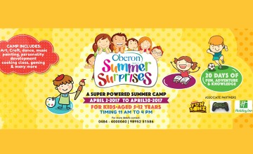 Oberon Summer Surprises 2017 - Summer Camp for Kids