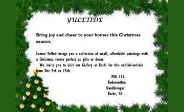 Yuletide - Christmas Painting Exhibition & Sale