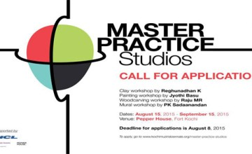 Biennale Foundation Invites Applications for 'Master Practice Studios'