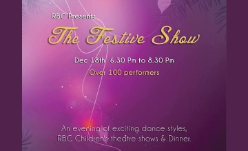 The Festive Show - Dance, Party & Dinner