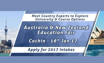 Australia & New Zealand Education Fair 2017