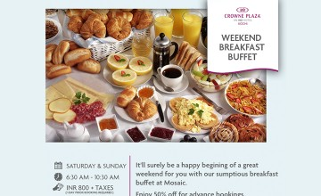 Weekend Breakfast Buffet