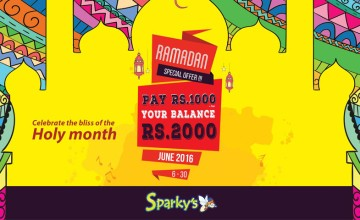 Ramadan Special Offer at Lulu Sparkys