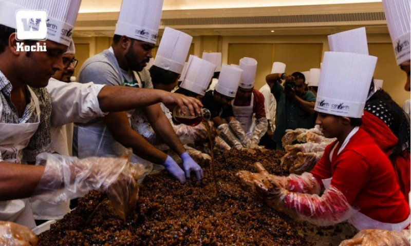 Cake mixing at The Casino Hotel kicks off Christmas fervour