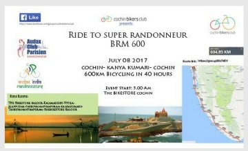 CBC Ride to Super Randonneur BRM 600