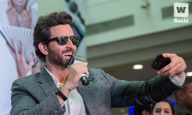 When Hrithik Roshan, the Greek God of Bollywood, touched down in Kochi