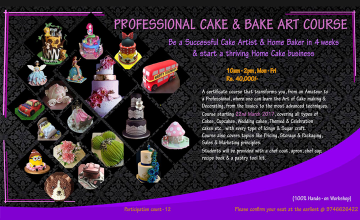 Professional Cake & Bake Art Course