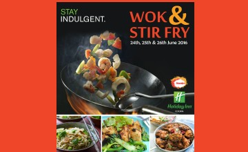 Wok and Stir Fry Food Festival