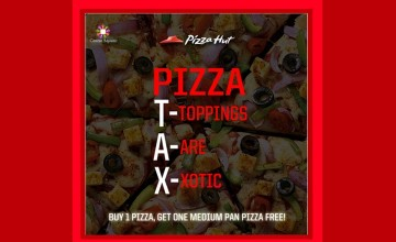 Buy One Get One Free Offer From Pizza Hut