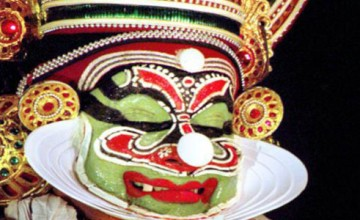 Kathakali- Sadanam Krishnankutty Enacts the Role of Ravana