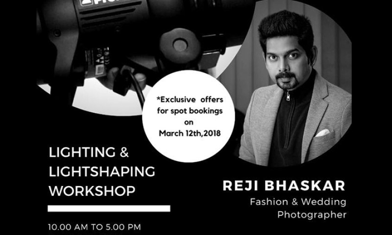 Lighting and Light Shaping Workshop