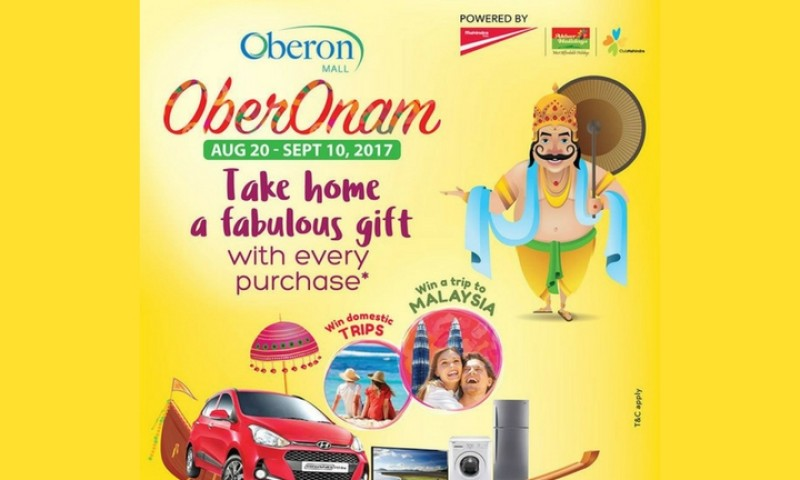 OberOnam - Exciting Onam Offers By Oberon Mall