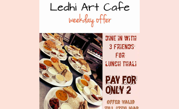 Weekday Offer by Ledhi Art Cafe