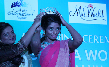 Mrs.India World from Kochi