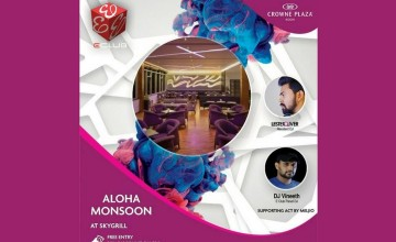 Aloha Monsoon - Music and Food