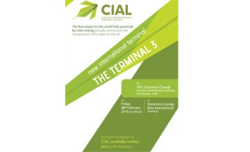 Terminal 3 Inauguration of CIAL