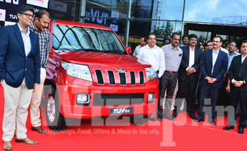 Mahindra TUV launched in Kochi
