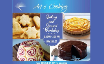 Baking and Dessert Workshop from Art'e Cooking