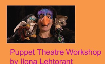 Puppet Theater Workshop by Ilona Lehtorant
