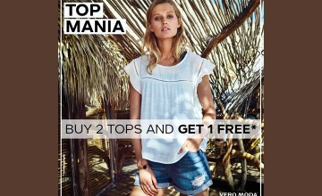 Buy 2 Tops and Get 1 Free from Vero Moda