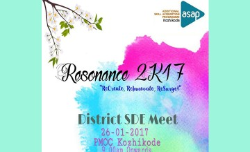 Resonance 2k17 - District SDE Meet