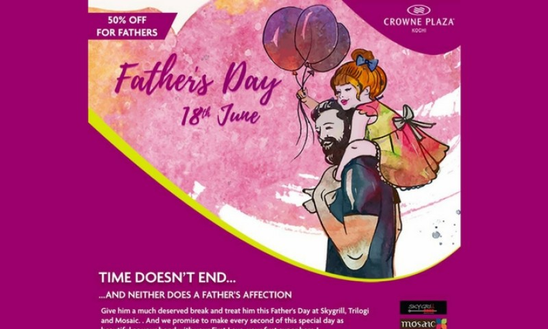 Father's Day Offers by  Crowne Plaza