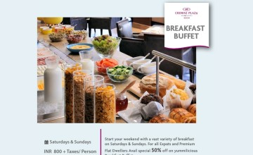 Breakfast Buffet By Crowne Plaza