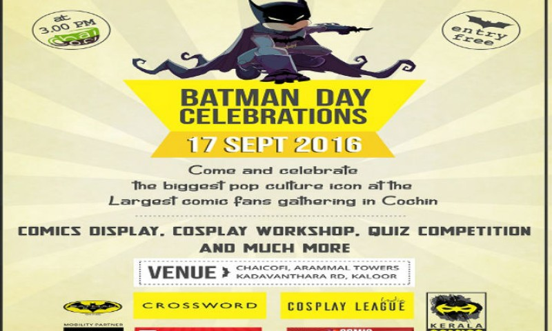 Batman is coming to town: Kerala's first comic convention in Kochi