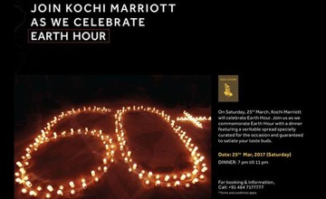 Earth Hour by Kochi Marriott