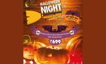 Halloween Night At Olive Downtown