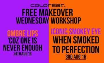 Free Makeover from Colorbar at the Wednesday Workshop