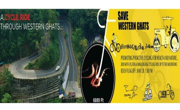 Save Western Ghats Cycle Ride by Paravur Bikers Club