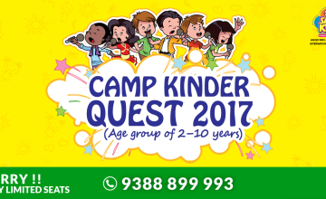 Camp Kinder Quest 2017: Summer Camp for your Little Champs in Kochi, Kerala