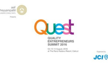 Quality Entrepreneurs Summit (QUEST) 2016