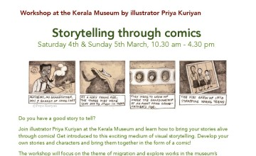 Storytelling Through Comics with illustrator Priya Kuriyan