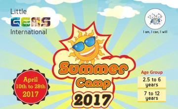 SUMMER CAMP FOR ALL  - Two groups - for 2.5 to 6 years AND for 7 to 12 years - OPEN FOR ALL