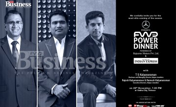 Mercedes Benz – FWD Power Dinner with T.S Kalyanaraman & Sons