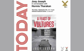 A Feast of Vultures- Josy Joseph in conversation with Hormis Tharakan