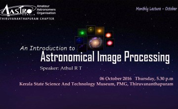 Aastro Kerala Trivandrum Chapter Monthly Public Lecture