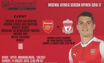 Arsenal Kerala Season Opener 2016-17